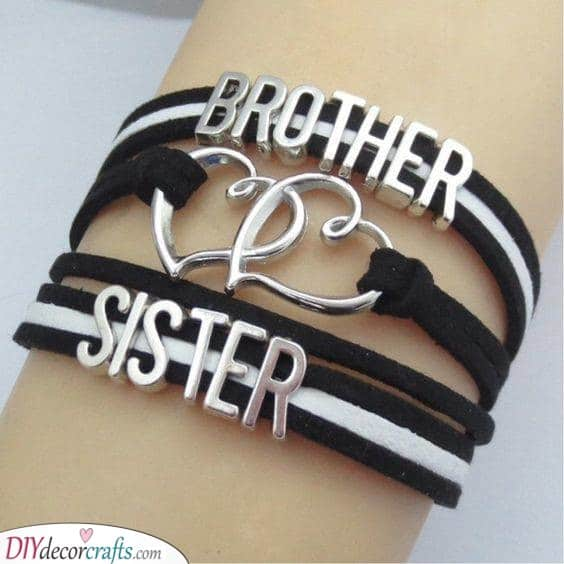 Brother and Sister - Matching Bracelets