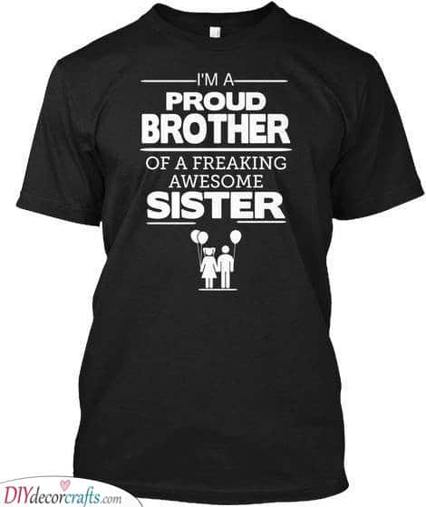 A Cool T-Shirt - Fabulous Presents for Brothers