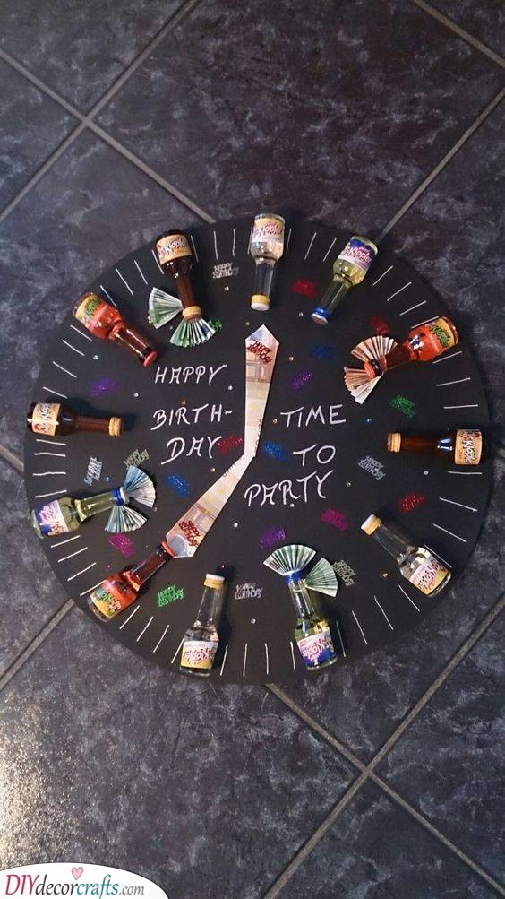 Time to Party - Best Birthday Gifts for Men