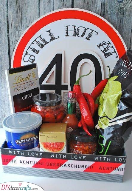 Hot Stuff - An Array of Spicy Snacks