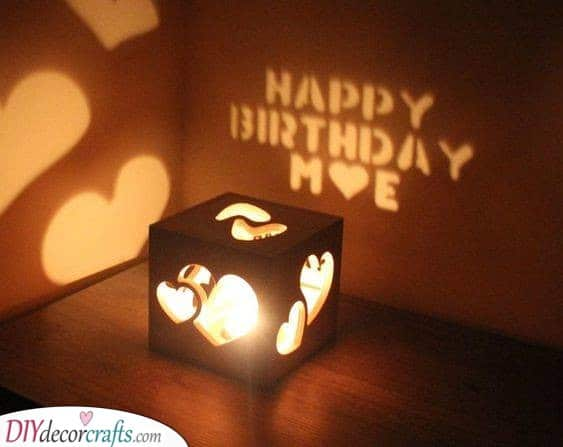 A Gorgeous Candleholder - Birthday Present Ideas for Him