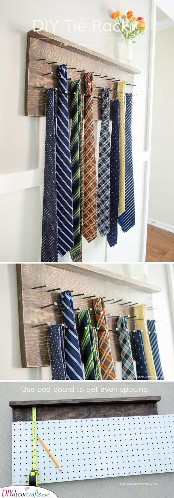 A Tie Holder - For Anyone Who Loves Ties