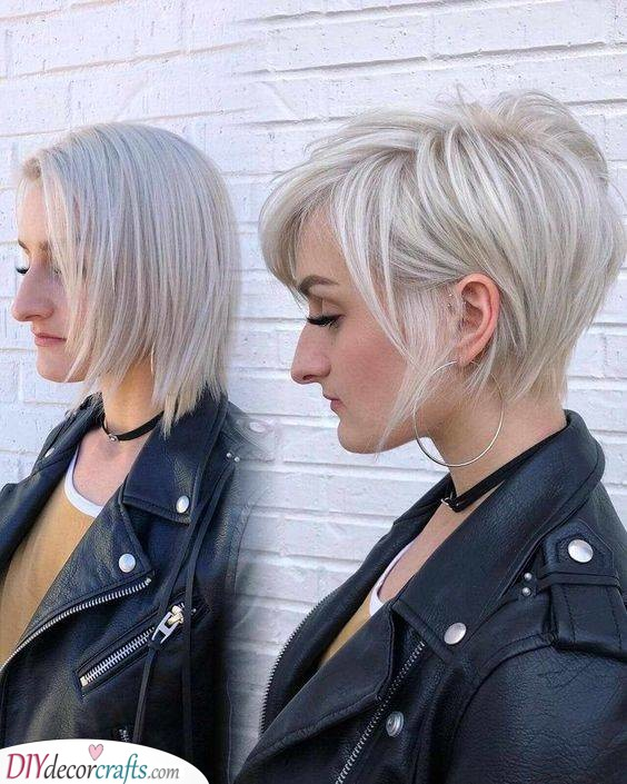 A Bold Colour - Perfect Hairstyles for Women with Thin Fine Hair