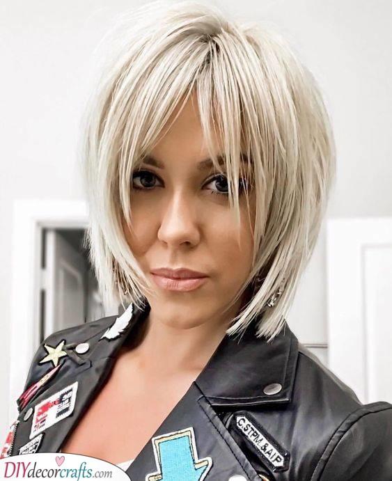 Short Hair Don't Care - Platinum Blonde