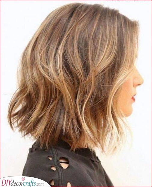 Messy Waves - Hairstyles for Women with Thin Fine Hair