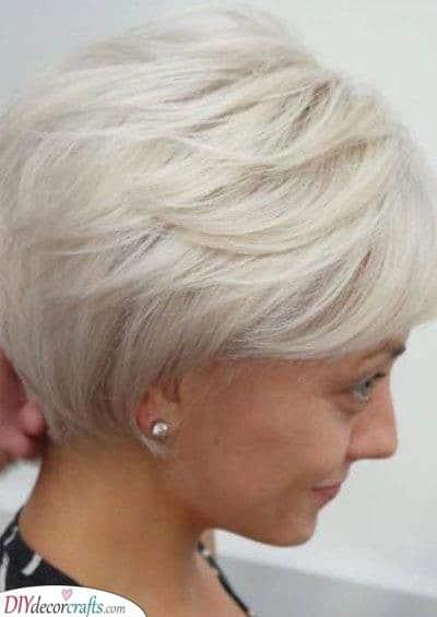 A Cute Pixie Cut - Hairstyles for Thin Hair