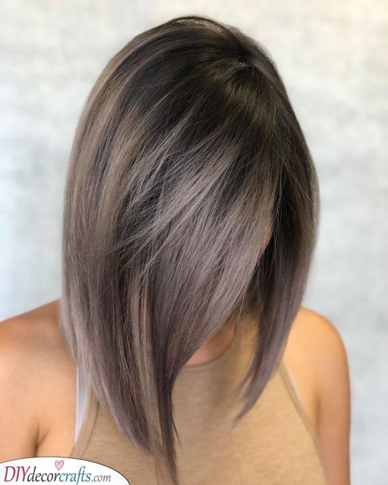 A New Gorgeous Hair Colour - Mushroom Brown