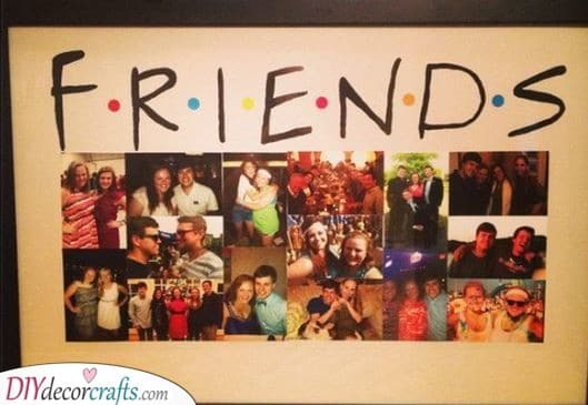 Friends Inspired - A Board of Pictures