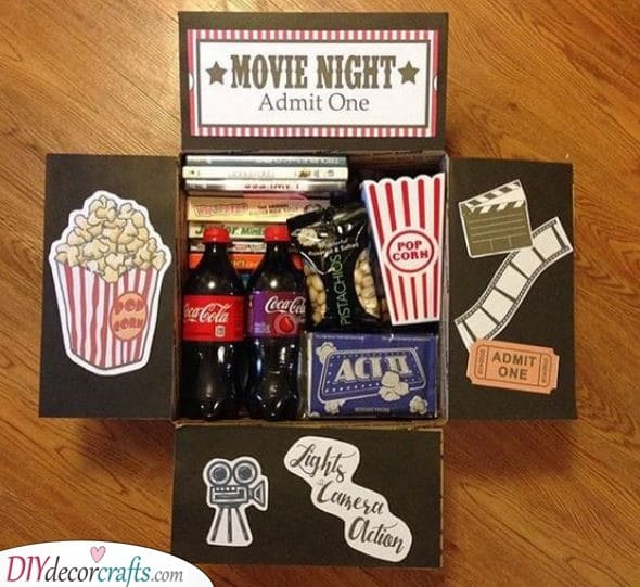 A Variety of Snacks - For a Movie Night