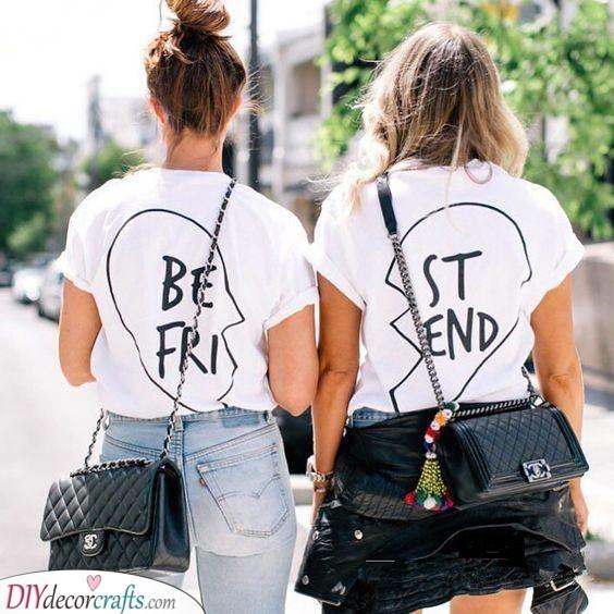 Matching T-Shirts - Two Halves Make a Whole