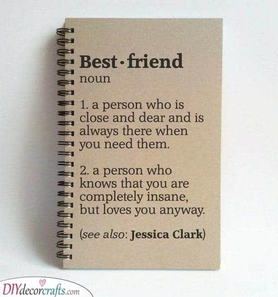 A Definition of Friendship - A Heartwarming Gift Idea