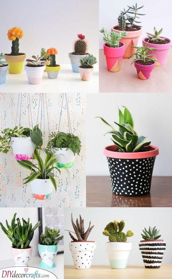 Painting Pots - Cute Designs