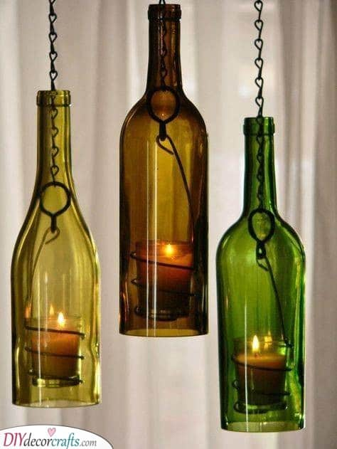 Wine Bottle Candle Holders - Light Up the Room