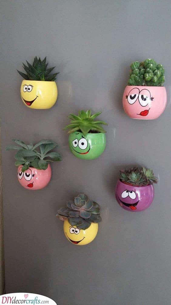Funny Wall Planters - Get Ready for Summer