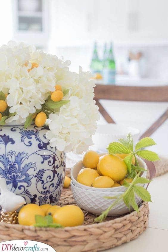 Lemon Inspired - Summer Table Decorations