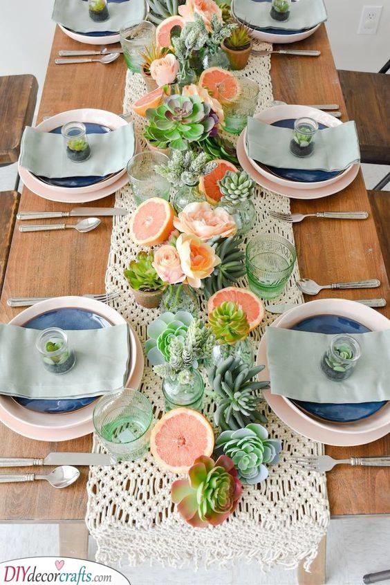 A Secret Garden - Summer Tablescapes