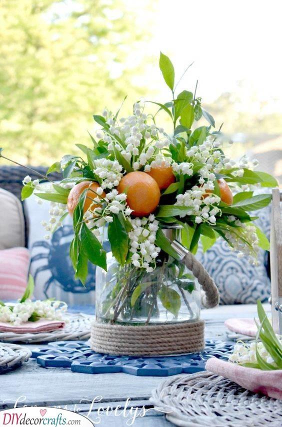 Blissful Oranges - Earthy Summer Table Settings