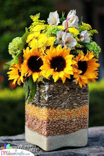 Layers of Seeds - The Perfect Summer Vase