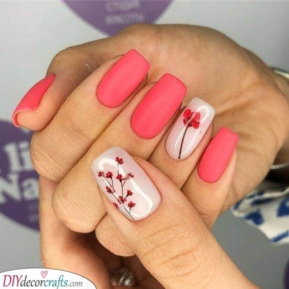 Cherry Blossoms - Great Nail Ideas for the Season