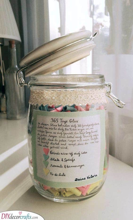 365 Days of Messages - Lovely Homemade Birthday Gifts