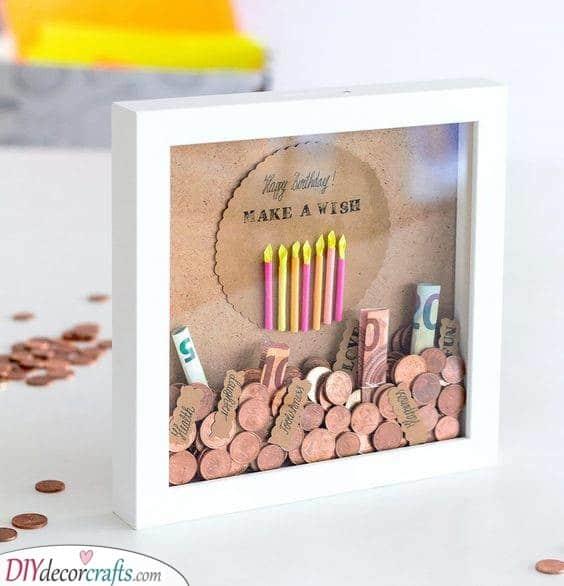 A Modern Wishing Well - An Alternative to a Piggy Bank