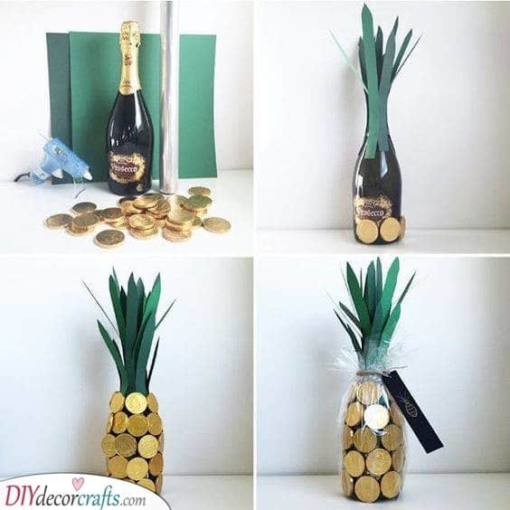 A Bit of Booze - In the Form of a Pineapple