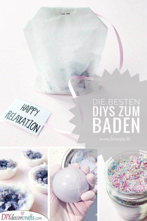 Bath Bombs and Melts - Homemade Birthday Gifts