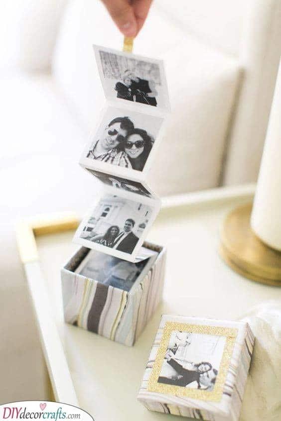 A Box of Photos - An Alternative to an Album