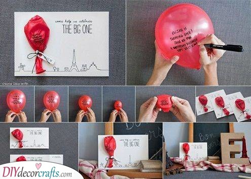 Handmade Birthday Cards - Blow it Up