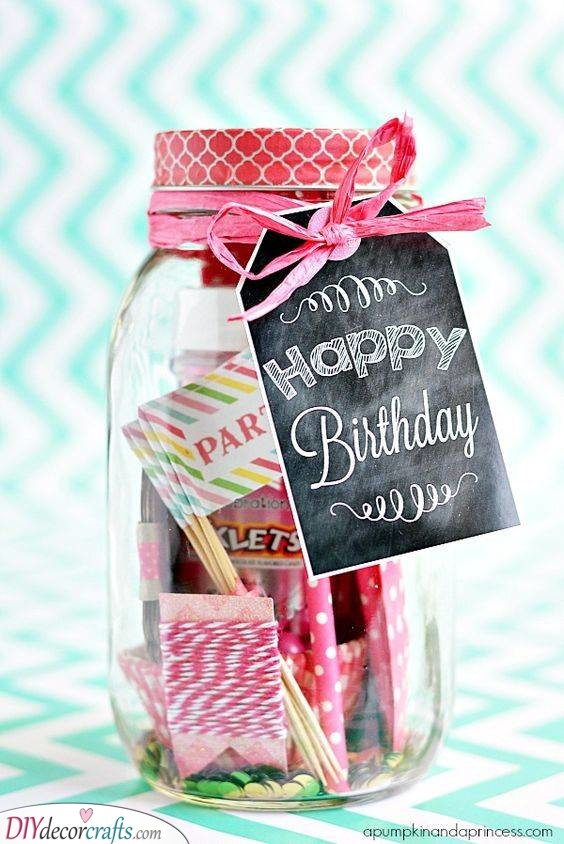A Jar of Things - Effortless Birthday Gifts for Her