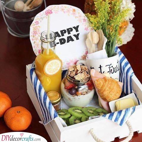 A Birthday Breakfast - Creative and Delicious