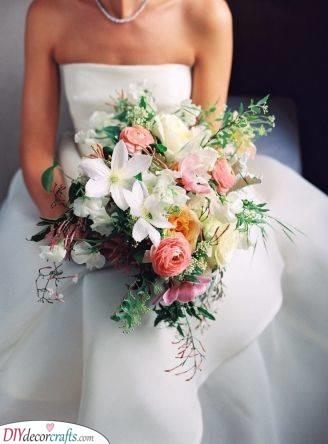 Delicate Spring Bouquet - DIY Bridal Bouquets