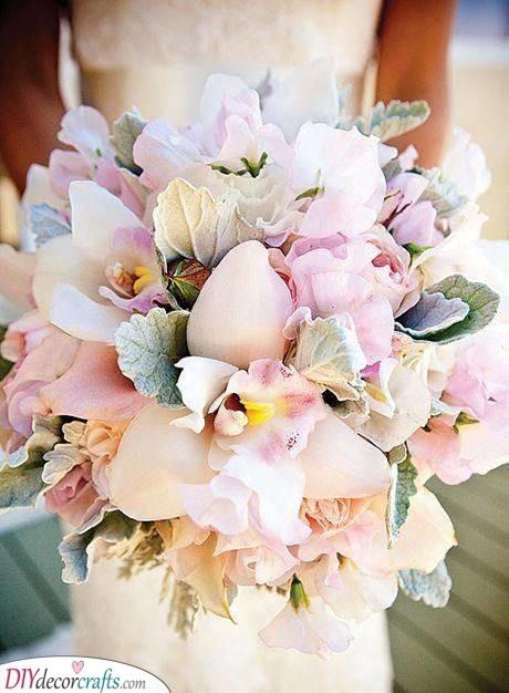 Pale Pink Orchids - Bridal Flower Bouquets