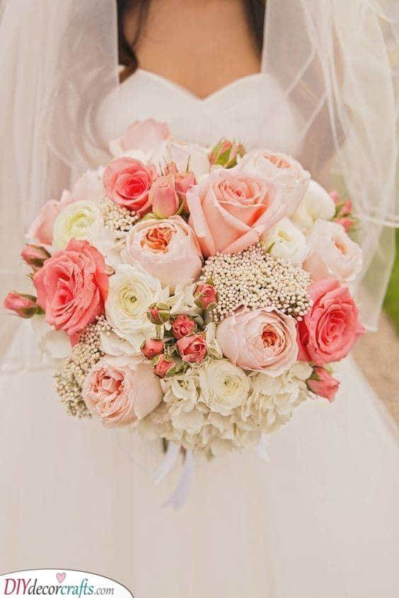 Shades of Pink - Bridal Flower Bouquets