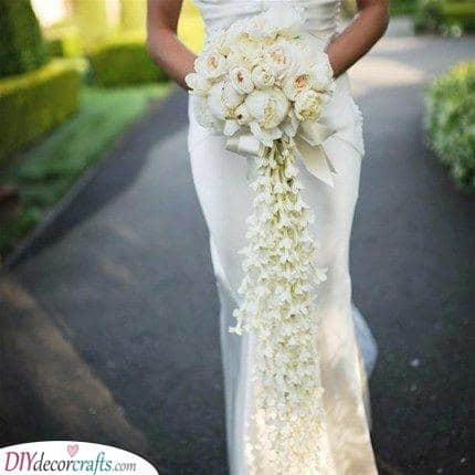 Strings of Flowers - Bridal Flower Bouquets