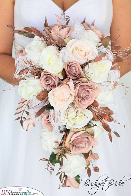 Rose Gold Flowers - Stunning Wedding Flora