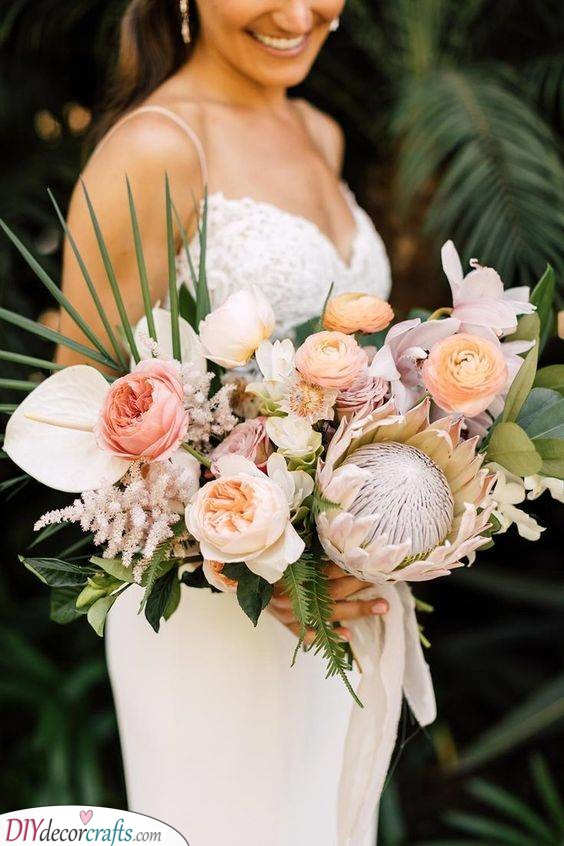 Exotic Composition - Beautiful Bouquets for Your Wedding