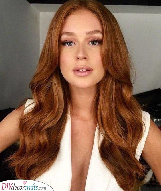 Gorgeous Ginger - Long Hairstyles for Women