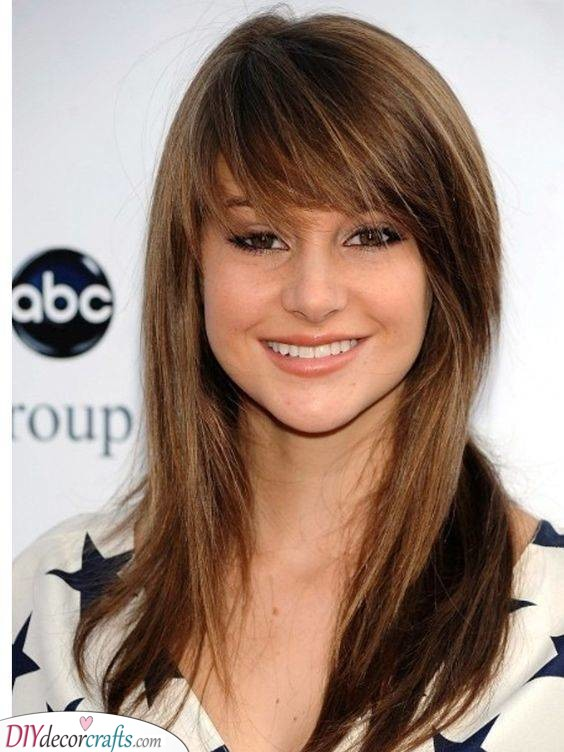 Layers and a Side Bang - Cute and Easy