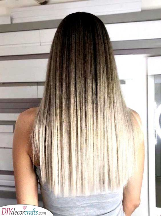 Ombre All the Way - Easy Hairstyles for Long Hair
