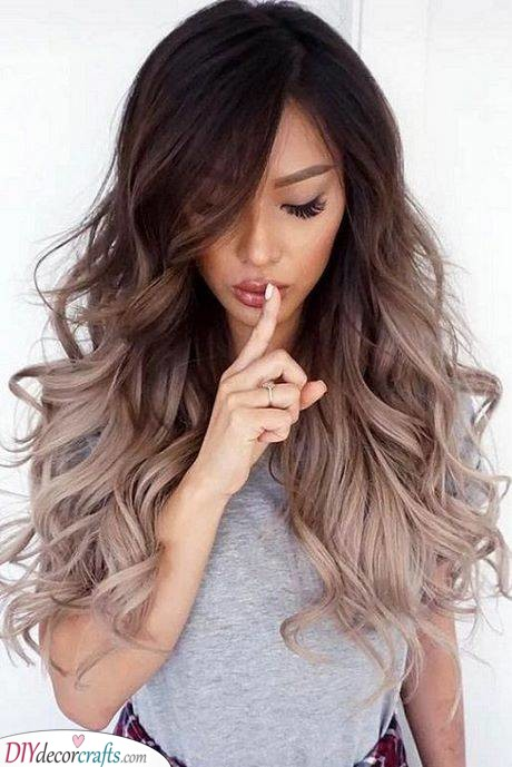 Lovely Curls - With an Ombre Twist