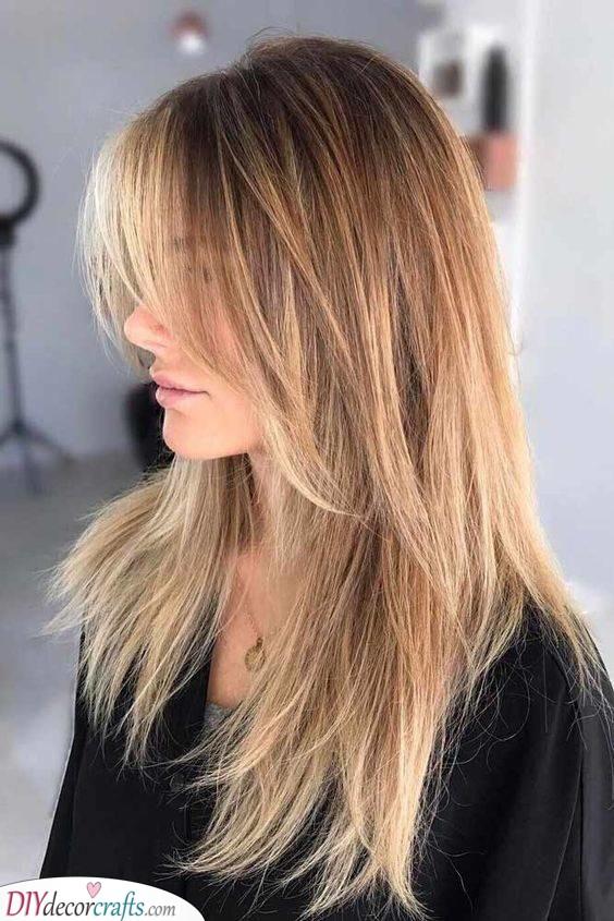 A Long Shag - Long Haircuts for Women