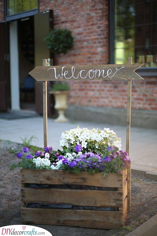 A Welcome Box - Spring Garden Decorations