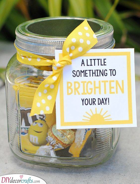 A Day Brightener - A Jar of Happiness