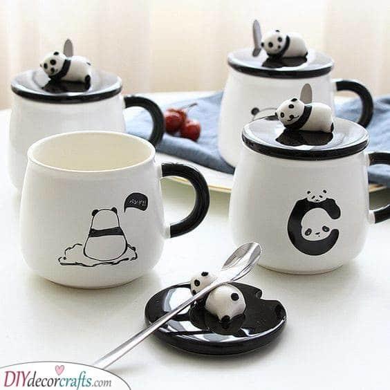 Panda Mugs - Perfect for Panda Lovers
