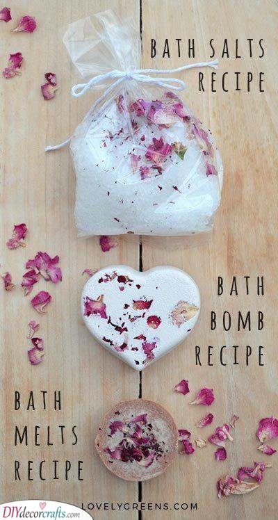Bath Salts, Melts and Bombs - Gifts for Women