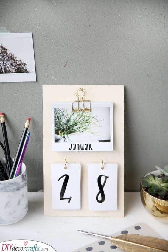 Handmade Calendar - Awesome Gift Ideas for Women