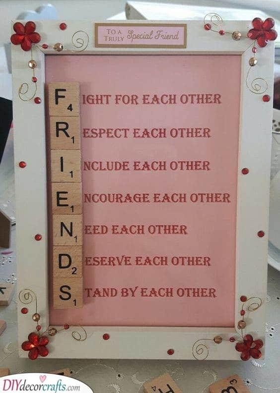 A Description of a Friend - Best Friend Gift Ideas