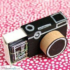 A Photo Camera - Get Creative with Wrapping