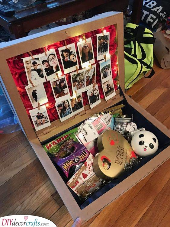 A Box of Polaroids and Treats - Gift Ideas for Your Best Friend